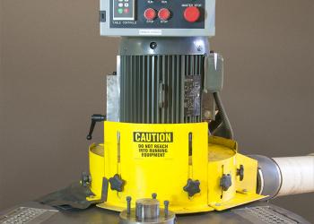 Spring grinder machine